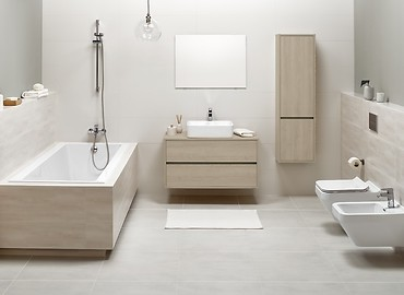 CREA - a bathroom collection offering unique possibilitties