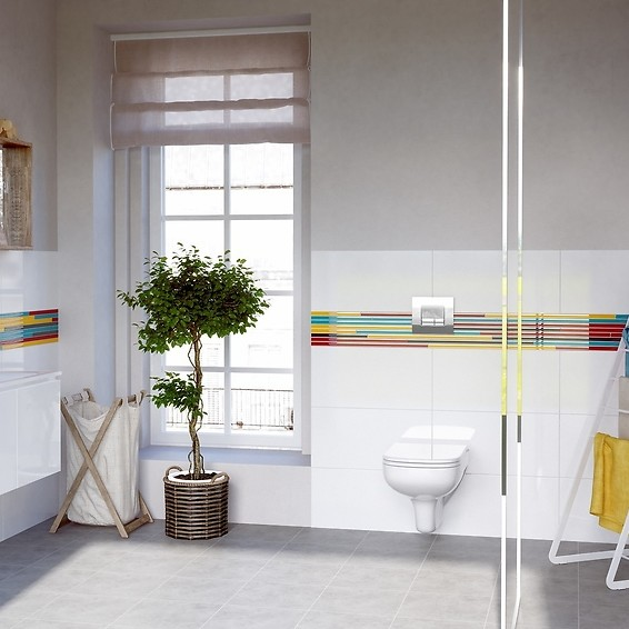 The power of colour – what colours to choose for the bathroom? 1
