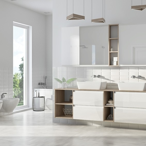 MODUO - unlimited possibilities of a minimalist bathroom