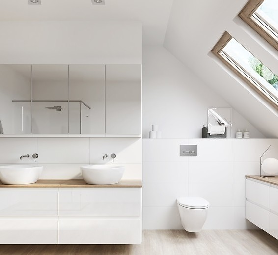 4 ideas for a Scandinavian bathroom theme 1