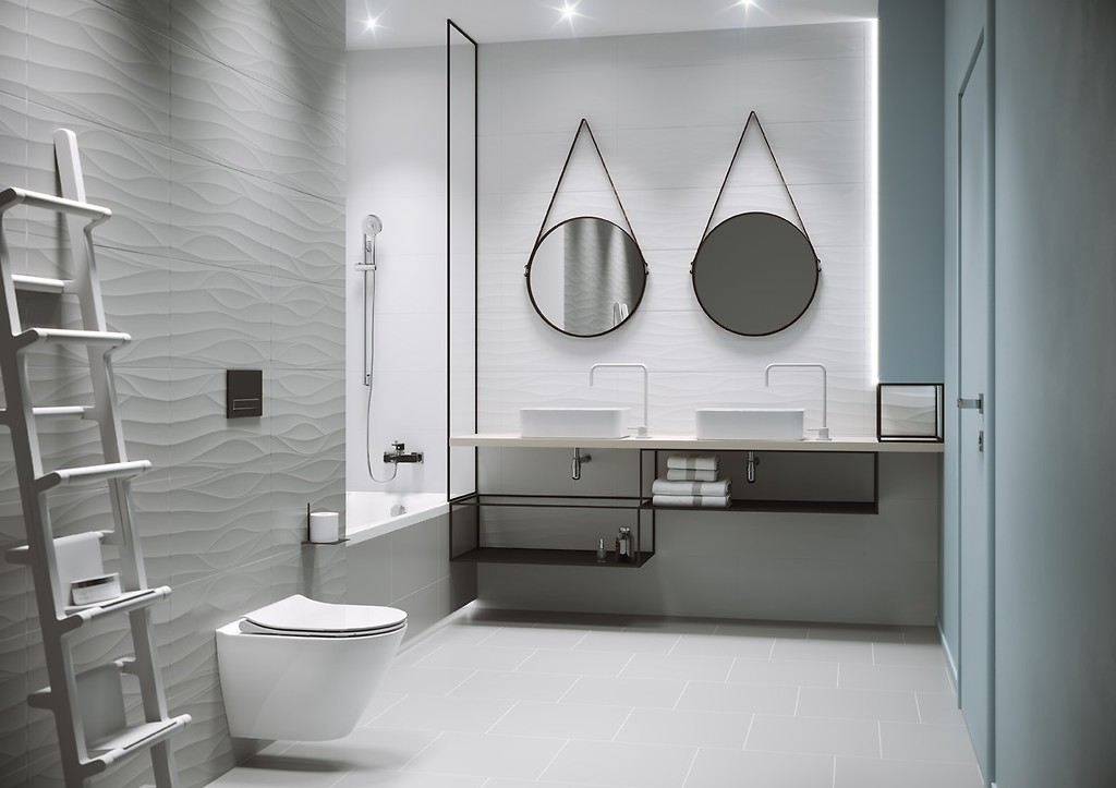 9 ideas for a Scandinavian bathroom theme / Inspirations and tips ...