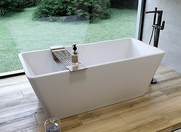 Freestanding bathtubs - Comfortable relaxation in modern form