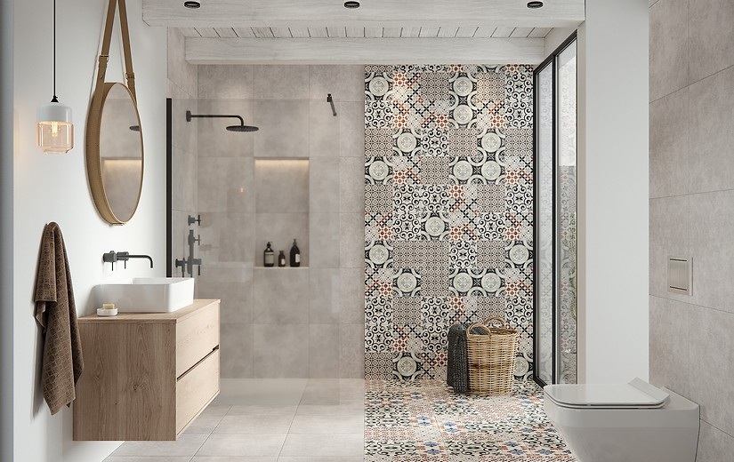 Collection Patchwork Ceramic Tiles Cersanit