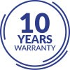 10-YEARS WARRANTY ON CERAMICS