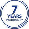 7 YEAR WARRANTY ON SHOWER