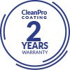 2-YEARS WARRANTY ON CleanPro COATING