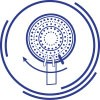 3-FUNCTION SHOWER HEAD