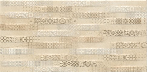 PS605 beige matt patchwork 29,7x60
