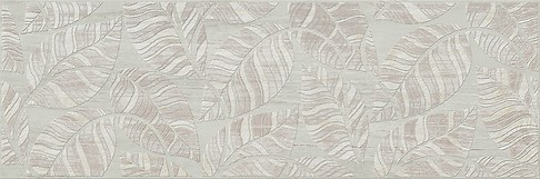 LIVI BEIGE INSERTO LEAVES 20x60