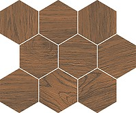 FINWOOD ochra mosaic hexagon 28 x 33,7