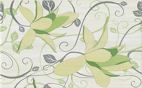 ARTIGA light green inserto flower 25x40