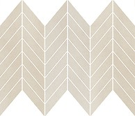 SAFARI CREAM CHEVRON MIX MOSAIC MATT 25,5 x 29,8