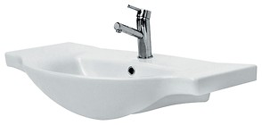LIBRA 80 furniture washbasin