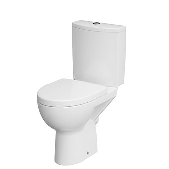 PARVA 011 WC compact set with PARVA duroplast, antibacterial, soft-close toilet seat