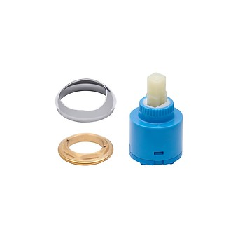 BATH-SHOWER AND SHOWER FAUCET HEAD WITH RING CROMO