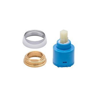 BATH-SHOWER AND SHOWER FAUCET HEAD WITH RING MILLE