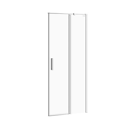 MODUO shower enclosure door with hinges, right 80 x 195