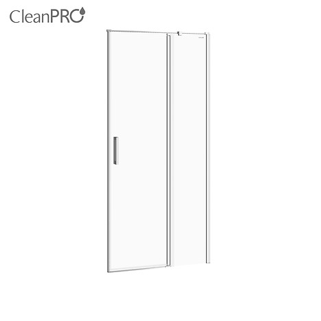 MODUO shower enclosure door with hinges, right 90 x 195