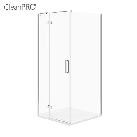 JOTA corner shower enclosure, left 90 x 90 x 195