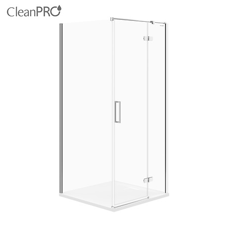 JOTA corner shower enclosure, right 90 x 90 x 195
