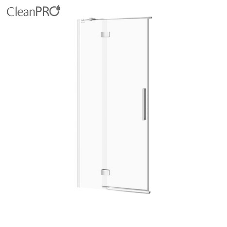 CREA shower enclosure door with hinges, left 90 x 200