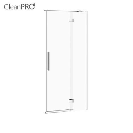 CREA shower enclosure door with hinges, right 90 x 200