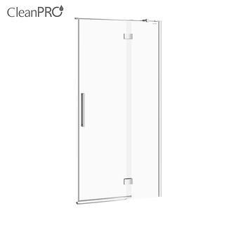 CREA shower enclosure door with hinges, right 100 x 200