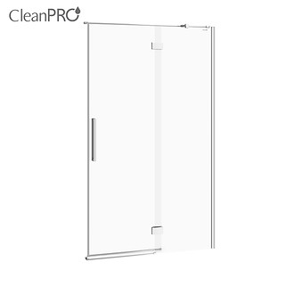 CREA shower enclosure door with hinges, right 120 x 200