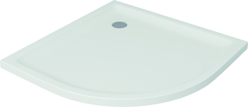 TAKO shower tray halfround 90 x 4