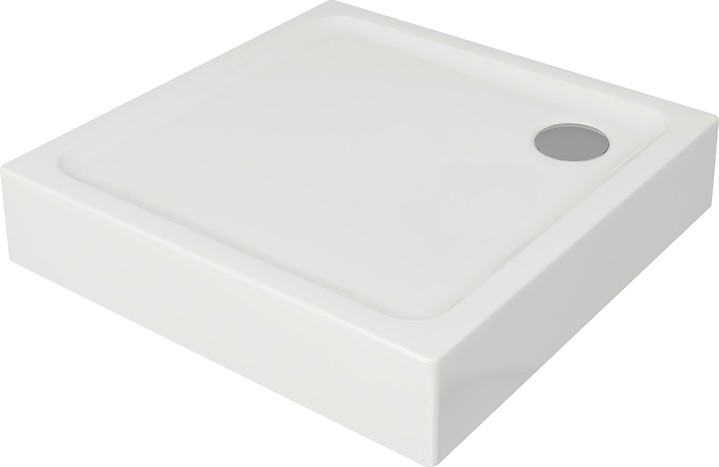 TAKO shower tray square 80 x 80 x 16 built-in-panel