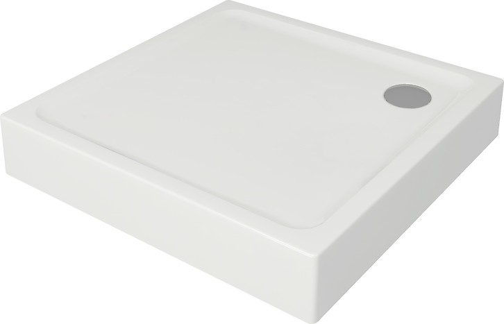 TAKO shower tray square 90 x 90 x 16 built-in-panel