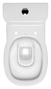 FACILE 011 WC compact set with FACILE duroplast, antibacterial toilet seat