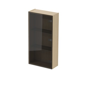 INVERTO wall hung glass cabinet 40