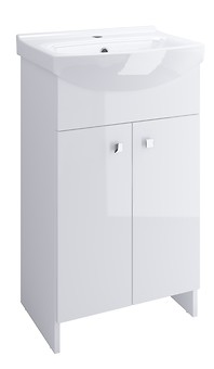 WASHBASIN CABINET SATI CERSANIA 50 WHITE FOR SELF-ASSEMBLY