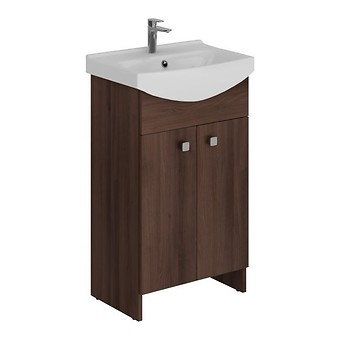 WASHBASIN CABINET SATI CERSANIA 50 BROWN FOR SELF-ASSEMBLY