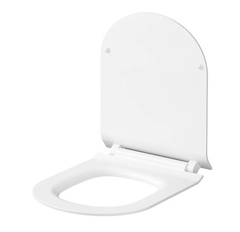 SET 743 CITY OVAL WALL HUNG BOWL CLEANON WITH HIDDEN FIXATION WITH SLIM ...
