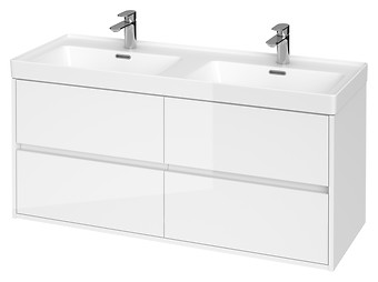 CREA 120 washbasin cabinet white