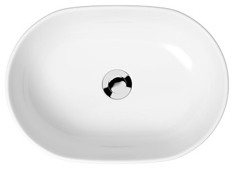 MODUO 50 countertop washbasin oval