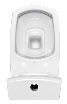 CARINA 010 WC comapct set with CARINA duroplast, antibacterial toilet seat