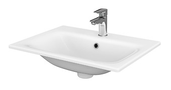 MODUO 60 washbasin in a counter