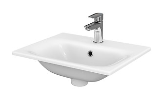 MODUO 50 washbasin in a counter