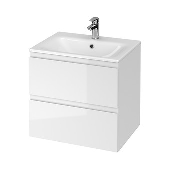 SET B275 MODUO-IN 60 WHITE DSM (CABINET + WASHBASIN)