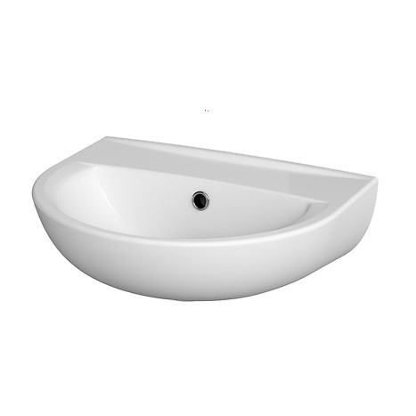 PRESIDENT 45 washbasin without hole for mixer