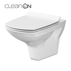 CARINA wall hung bowl CleanOn without seat