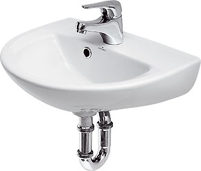 PRESIDENT 45 washbasin with hole for mixer