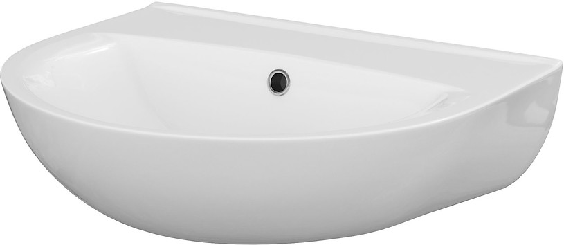 PRESIDENT 50 washbasin without hole for mixer