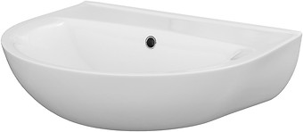 PRESIDENT 55 washbasin without hole for mixer