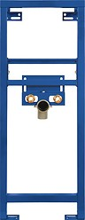 In-wall frame for washbasin