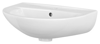PRESIDENT 55 washbasin with hole for mixer