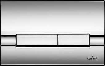 ADRIA flush button chrome gloss